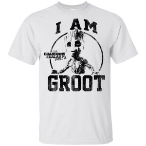 I Am Groot Guardians Of The Galaxy Youth T-Shirt