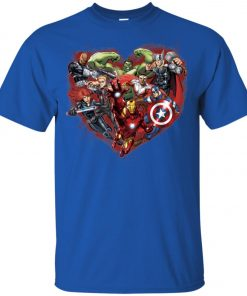 Marvelaholic Avenger Fans Youth T-Shirt