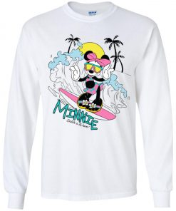 Minnie Mouse Catch A Wave Youth Sweatshirt