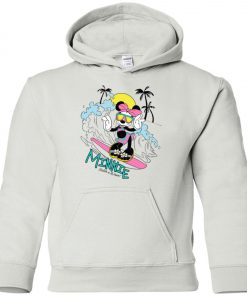 Minnie Mouse Catch A Wave Youth Hoodie