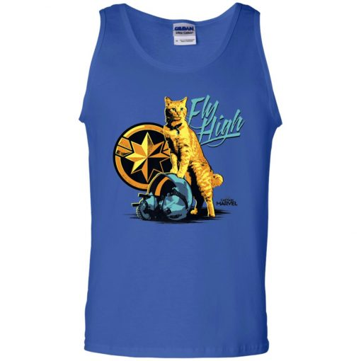 Captain Marvel GooseCat Fly High Men's Tank Top