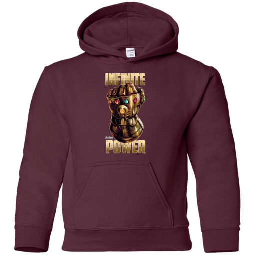 Thanos The Infinity Gauntlet Power Youth Hoodie