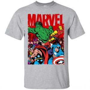 Marvel Avenger Vintage Poster Men's T-Shirt