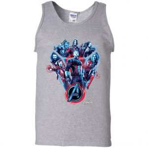 Avenger Team Poster Men's Tank Top