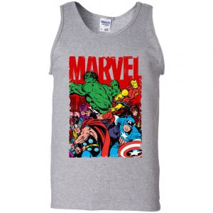 Marvel Avenger Vintage Poster Men's Tank Top