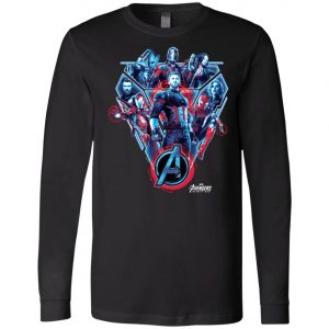 Avenger Team Poster Long Sleeve