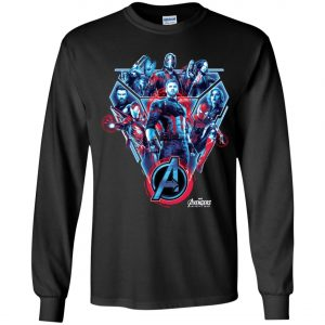 Avenger Team Poster Youth Sweatshirt
