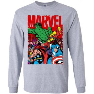 Marvel Avenger Vintage Poster Youth Sweatshirt