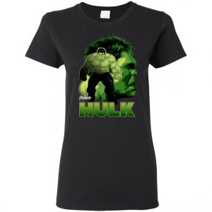 Marvel Hulk Profile Women's T-Shirt