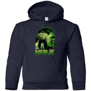 Marvel Hulk Profile Youth Hoodie