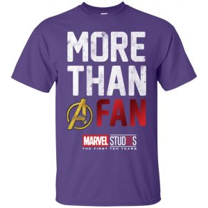 More Than Avenger Fan Marvel 10 Years Men's T-Shirt