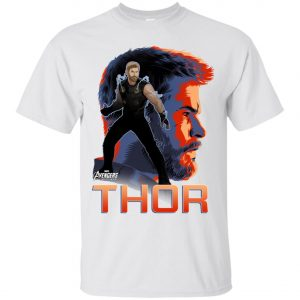 Avenger Thor Profile Men's T-Shirt