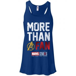 More Than Avenger Fan Marvel 10 Years Women's Tank Top