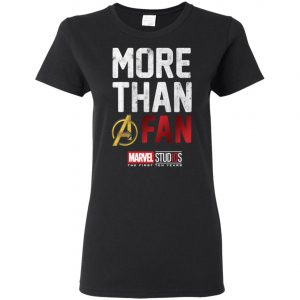 More Than Avenger Fan Marvel 10 Years Women's T-Shirt