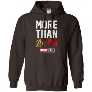 More Than Avenger Fan Marvel 10 Years Hoodie