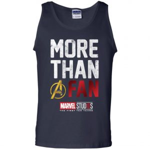 More Than Avenger Fan Marvel 10 Years Men's Tank Top