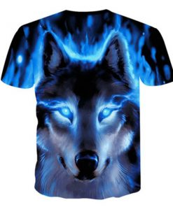 Night Wolf Hunter 3D All-over Prints T-Shirt