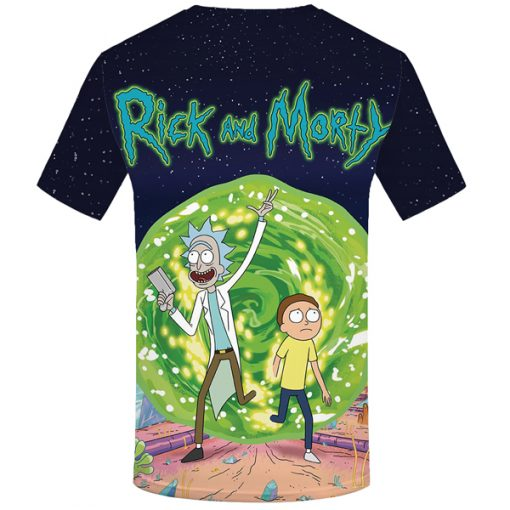 Rick & Morty Season 4 3D All-over Prints T-Shirt
