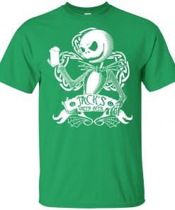 Jack Skellington Irish Shamrock copy Unisex T-Shirt