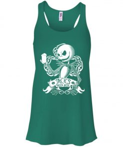 Jack Skellington Irish Shamrock copy Women's Tank Top