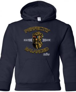 Thanos Infinity Gauntlet Perfectly Balanced Youth Hoodie