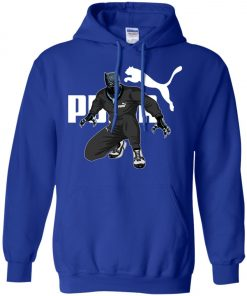 lack Panther x Puma Fans Made Pullover Hoodie
