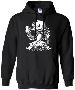 Jack Skellington Irish Shamrock copy Pullover Hoodie
