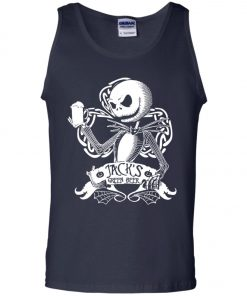 Jack Skellington Irish Shamrock copy Tank Top