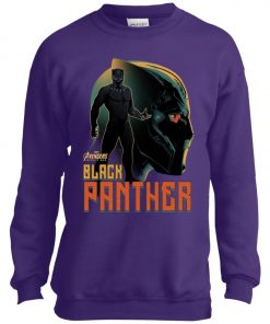 Marvel Black Panther Profile Youth Sweatshirt