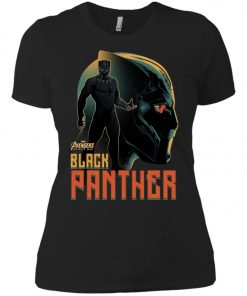 Marvel Black Panther Profile Women's T-Shirt