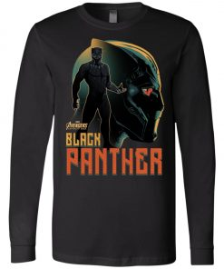Marvel Black Panther Profile Long Sleeve
