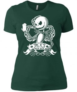 Jack Skellington Irish Shamrock copy Women's T-Shirt