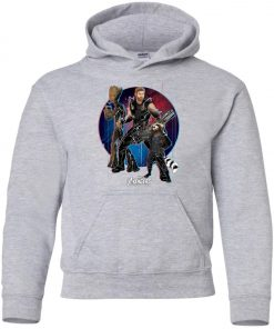 Marvel Thor Groot Rocket Raccon Team Youth Hoodie