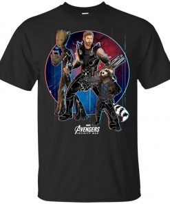 Marvel Thor Groot Rocket Raccon Team Youth T-Shirt