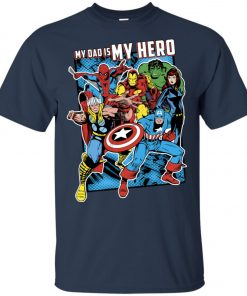 Marvel Heros My Dad My Hero Father's Day Unisex T-Shirt