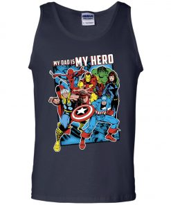 Marvel Heros My Dad My Hero Father's Day Tank Top