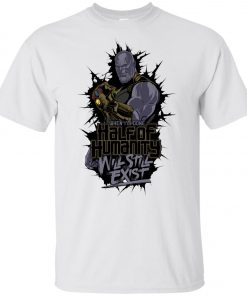 arvel Thanos Half of Humanity Youth T-Shirt