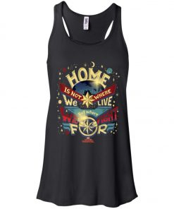 Captain Marvel Home Is What We Fight For Women's Tank Top