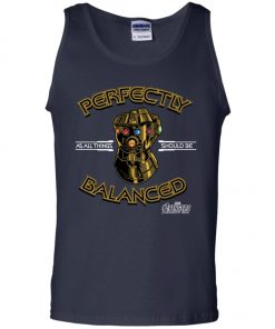 Thanos Infinity Gauntlet Perfectly Balanced Tank Top