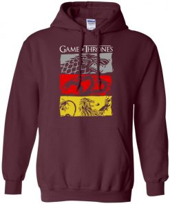 Game Of Thrones House Sigil Pullover Hoodie