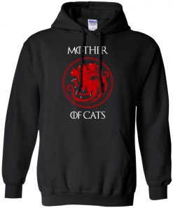 Game Of Thrones Mother Of Cats Pullover Hoodie
