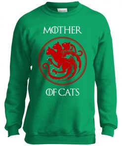 ame Of Thrones Mother Of Cats Youth Sweatshirt