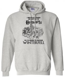 Game Of Thrones Winterfell Hogwarts Letter Pullover Hoodie