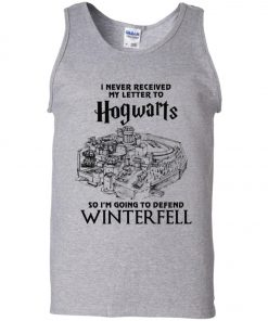 Game Of Thrones Winterfell Hogwarts Letter Tank Top