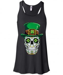 Irish Sugar Skull St Patrick's Day Women's Tank Top