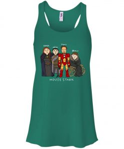 Game Of Thrones House Stark Ironman Black Women's Tank Top