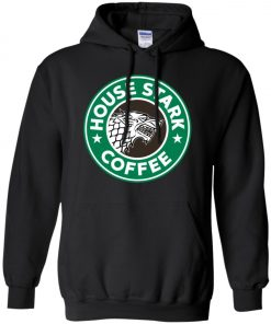 Starbucks Game Of Thrones Stark House Coffee Pullover Hoodie
