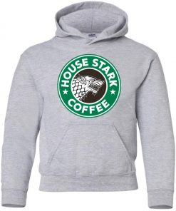Starbucks Game Of Thrones Stark House Coffee Youth Hoodie