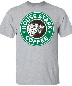 Starbucks Game Of Thrones Stark House Coffee Youth T-Shirt