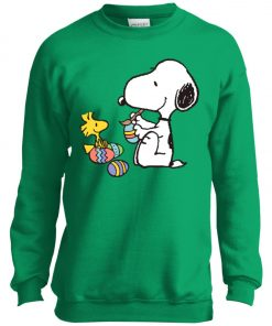 Peanuts Snoopy Easter Egg Youth Sweatshirt
